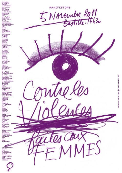 Manifestation nationale contre les violences faites aux femmes – 5 novembre